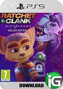 Ratchet & Clank: Rift Apart - Edição Deluxe - PS5 Mídia Digital