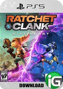 Ratchet & Clank: Rift Apart - Edição Standard - PS5 Mídia Digital