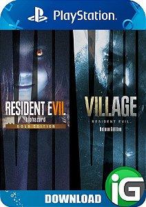 Resident Evil Village - PS4 Complete Bundle