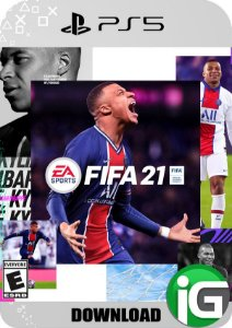 Fifa 21 Edição Standard PS5 - Mídia Digital