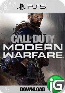Call of Duty Modern Warfare PS5 - Mídia Dìgital