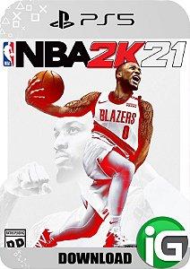 NBA 2K21 Edição Standard - PS5 Mídia Digital