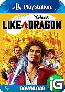 Yakuza: Like a Dragon - PS4 Mídia Digital
