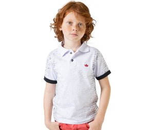 Camisa Polo Letters G91
