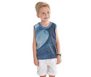 Camiseta Regata Waves Bicho Bagunça