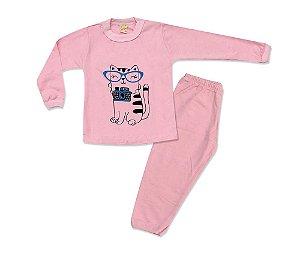 Pijama Infantil Gatinha