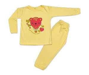 Pijama Infantil Ursinho