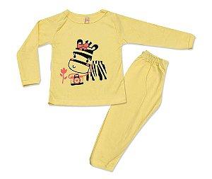 Pijama Infantil Zebrinha