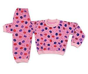 Pijama Flanelado Infantil Ursinho