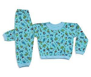 Pijama Flanelado Infantil Circus