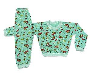 Pijama Flanelado Infantil Elefantinho