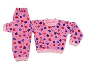 Pijama Flanelado Infantil Hamburguer