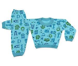 Pijama Flanelado Infantil Bichinhos