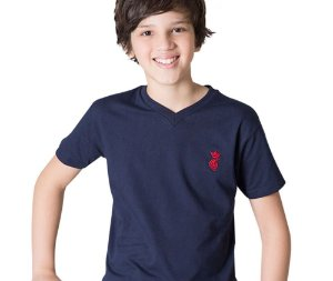 Camisa Infantil Estampada G91 Style