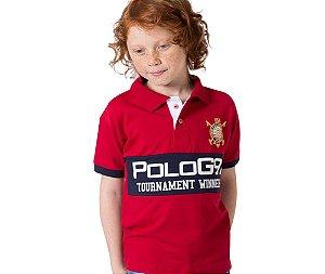 Camisa Gola Polo Infantil G91 Tournament Winners