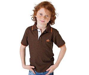 Camisa Gola Polo Infantil Edição Limitada Estampada e Bordada G91 Style