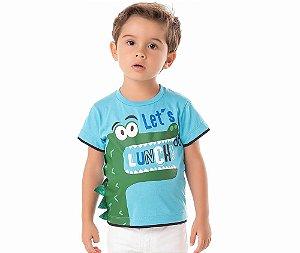 Camiseta Infantil Let's do Lunch By Gus