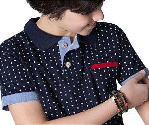Camisa Gola Polo Infantil G91 Style