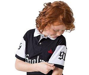 Camisa Gola Polo Infantil England G91 Stye