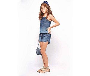 Conjunto Jeans Infantil Feminino MRX Kids