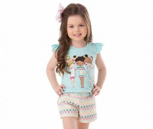 Camiseta Infantil Me And MyCrew By Gus
