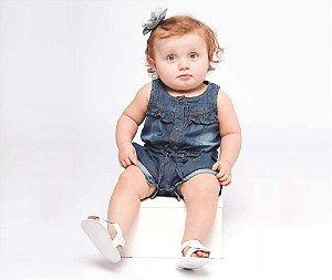 Macacão Jeans Bebê MRX Kids