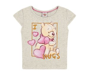 Blusa Ursinho Pooh Infantil Fakini