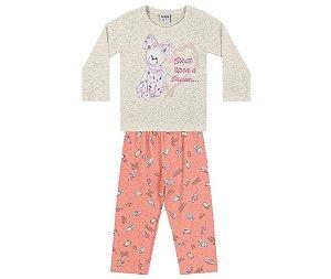 Cj. Pijama Blusa m/longa e Calça