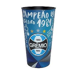 Copo Colecionável Grêmio Campeão Brasileiro 1981 Jogo 1 600ml