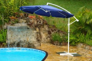Ombrelone Nautika Larami 2,7m / 270 Azul Garden