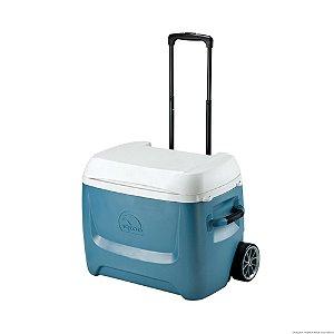 Caixa Térmica Igloo Island Breeze Maxcold 50 Qt Roller