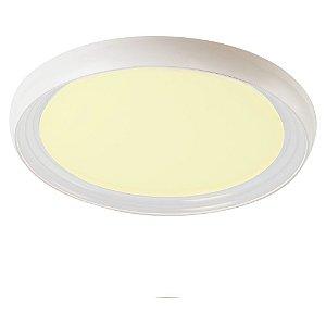 Luminária de Teto em LED 3000k Treviso Milano Transparente