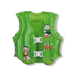 Colete Inflável Infantil Mor Turma Da Mônica Verde