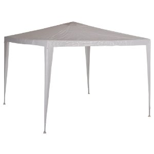 Tenda Gazebo Oxford Mor 3x3m Com Silver Coating Branco