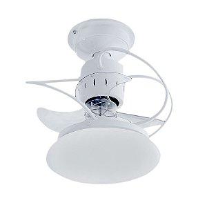 Ventilador De Teto Treviso Atenas Branco com iluminação LED