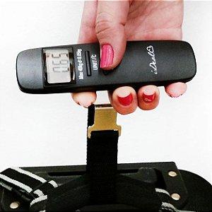 Balança de Bagagem Ideal com visor digital de Peso e Temperatura