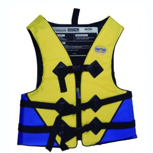 Colete Salva-vidas Mor 70 kg Amarelo e Azul