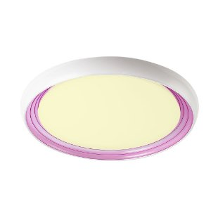 Luminária de Teto em LED 3000k Amarelo Treviso Milano Rosa