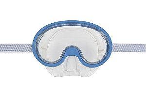 Máscara De Mergulho Infantil Mor Azul