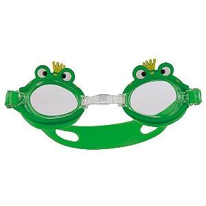 Óculos De Natação Infantil Mor Antiembaçante Sapo