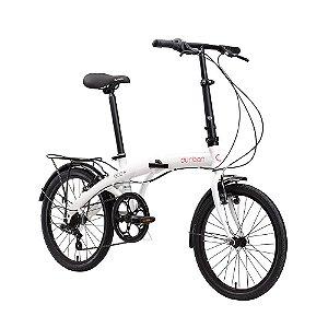 Bicicleta Durban Dobrável Eco Branco