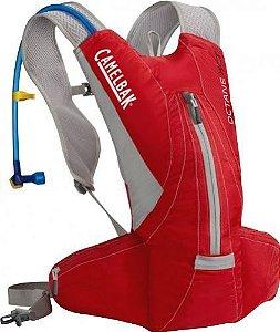 Mochila CamelBak de Hidratação Octane Xct Vermelho E Cinza