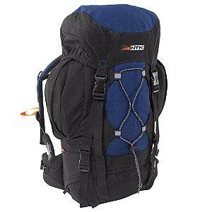 Mochila Everest 35L NTK azul e preta