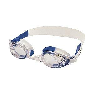 Óculos Nautika De Natação Bit Branco e Azul
