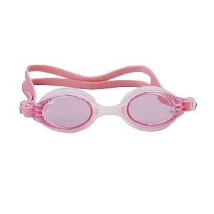 Óculos Nautika De Natação Dragon Branco e Rosa