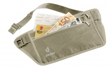 Pochete Deuter Security Money Belt Areia