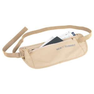 Pochete Sea to Summit Money Belt Areia