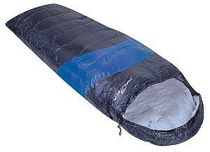 Saco De Dormir Nautika Viper 5ºC a 12ºC Preto e Azul