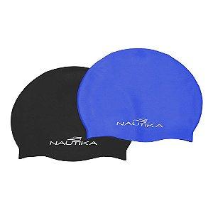Touca Nautika De Silicone Junior Azul