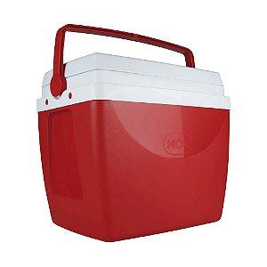 Caixa Térmica Mor 34 Litros Vermelha